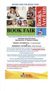 Book Fair Flyer 10-14