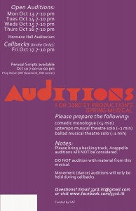 Company Auditions