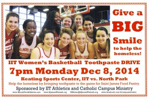 Women's Basketball Toothpaste Drive