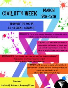 Civiliity Week Flyer