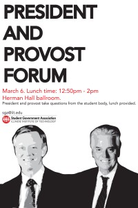 ask president AND PROVOST rotated