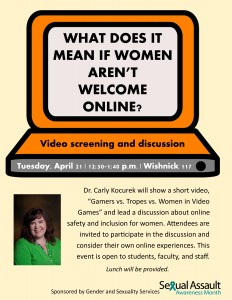 Women Not Welcome Online