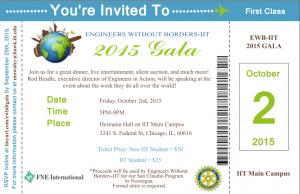 EWB Gala Invite