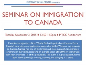 Seminar on Immigration to Canada