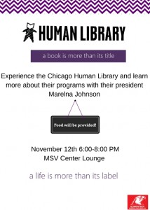 Human Library Information Flyer