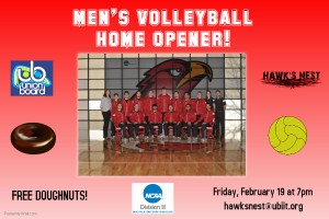 Men's Volleyball Flyer58