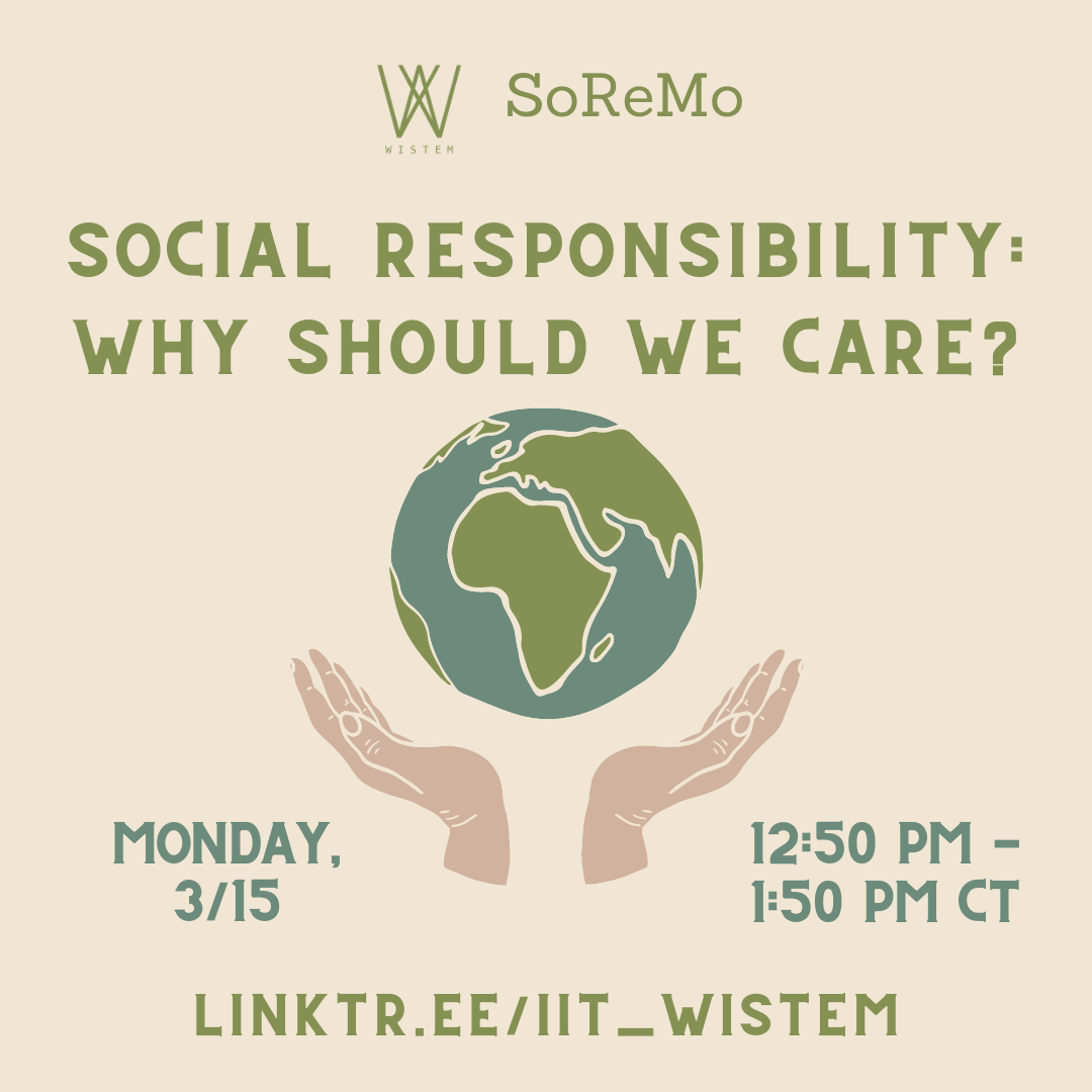 Social Responsibility: Why Should We Care?