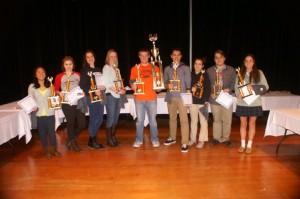 Top Winners of the 2015 Bridge Contest
