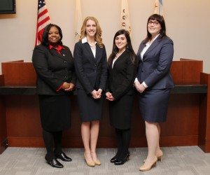 Ethics Competition Team: Kendra Spearman, Ann Motto, Gabrielle Romano, Tracey Harkins