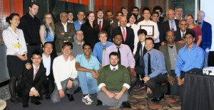 Students, Alumni, and Faculty at the ChBE Awards Dinner